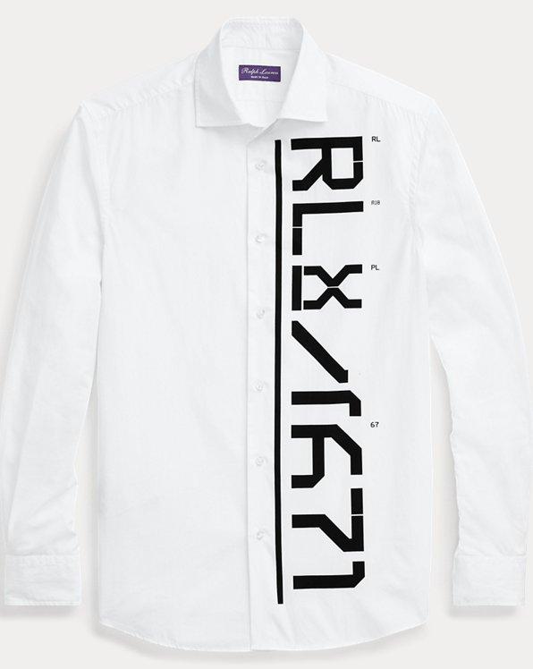 Tailored-Fit Hemd RLX mit Grafik