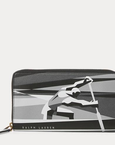 Art Deco Zip Wallet