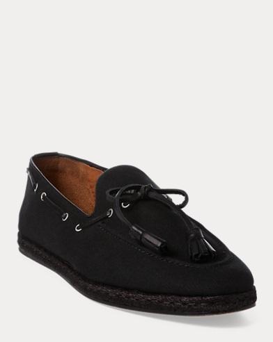 Irwin Linen-Calf Loafer