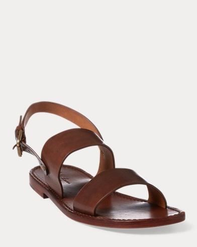 Jayce Burnished Leather Sandals