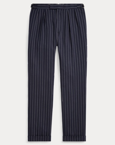 Gregory Striped Twill Trouser