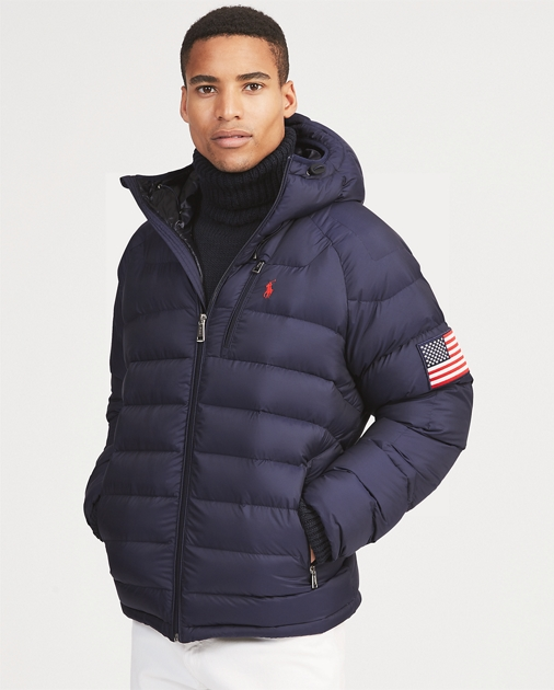 Glacier Heated Down Jacket
