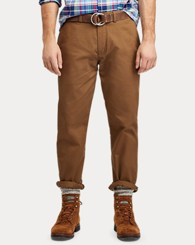 Mens Designer Trousers   Slim Fit Designer Chinos   Ralph Lauren UK 9bb626a939