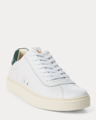 Sneaker Court 100 in pelle