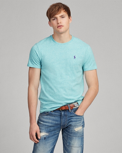 Custom-Slim-Fit Rundhals-T-Shirt