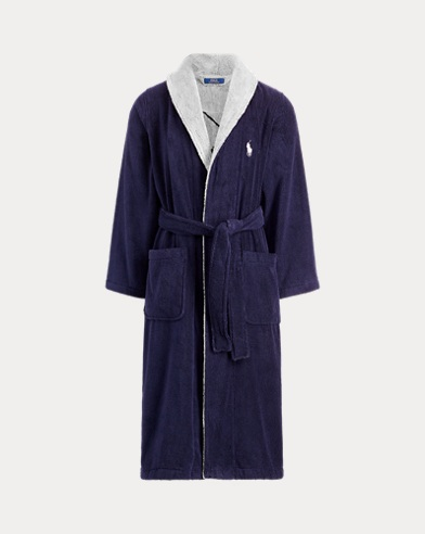 Big Pony Cotton Robe