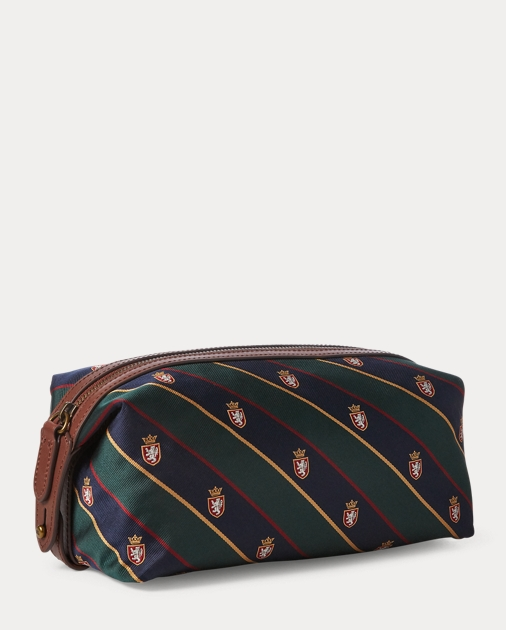 cb0ddbdd5f Polo Ralph Lauren Patchwork Tie-Silk Shaving Kit 2