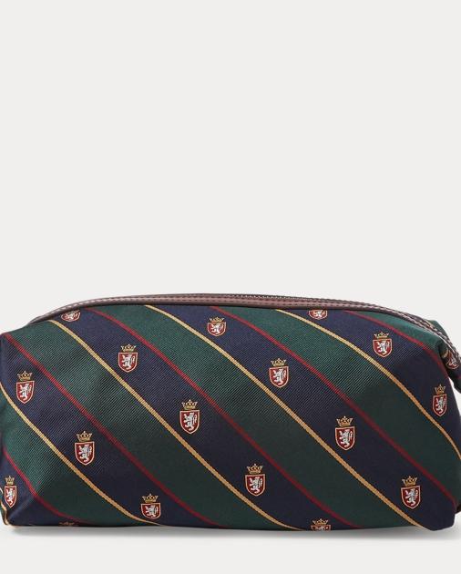 2f775334d401 Polo Ralph Lauren Patchwork Tie-Silk Shaving Kit 1