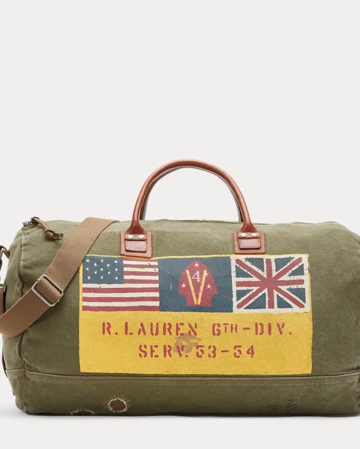 ced88b4cac Polo Ralph Lauren Cotton Military Duffel 1
