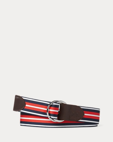 Grosgrain O-Ring Belt