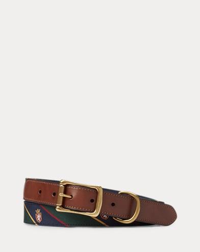 Heritage Tie-Silk Belt