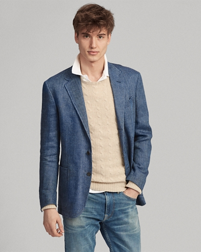 Polo Herringbone Sport Coat