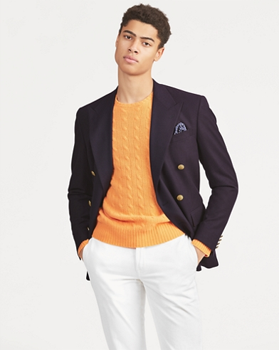 Polo Doeskin Wool Blazer
