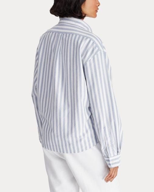 1320a1cf3327c Polo Ralph Lauren Cropped Oxford Shirt 5