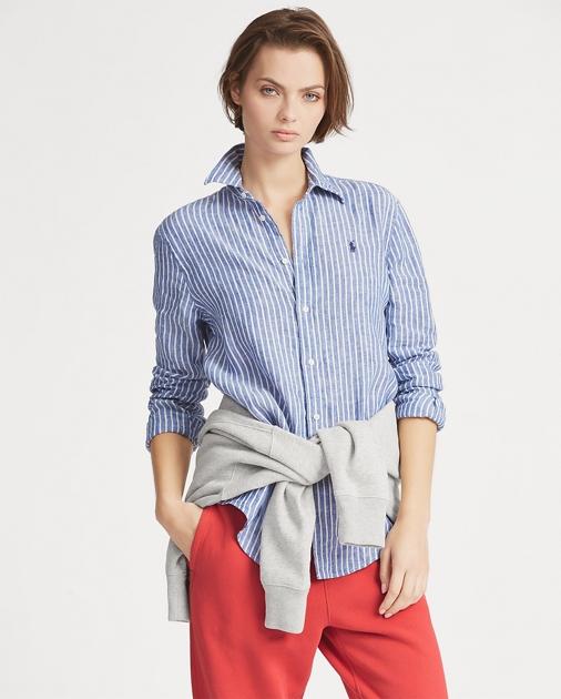 175950e9248 Polo Ralph Lauren Relaxed Fit Linen Shirt 1