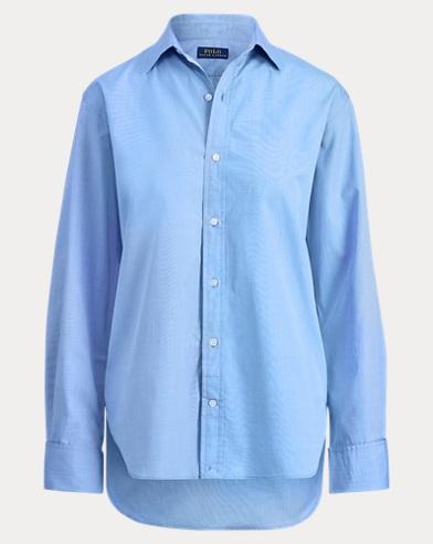 Monogram Button-Down Shirt