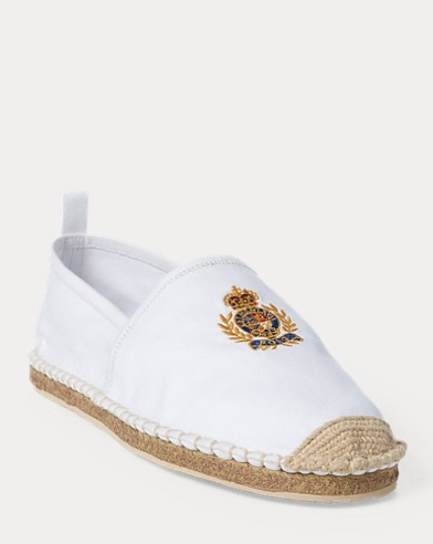 9e658dbc793 Barron Crested Espadrille. 20% Off Selected Colours. Polo Ralph Lauren