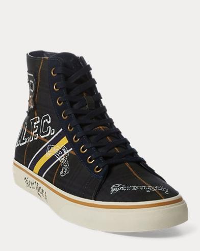 Sneaker Solomon in tartan