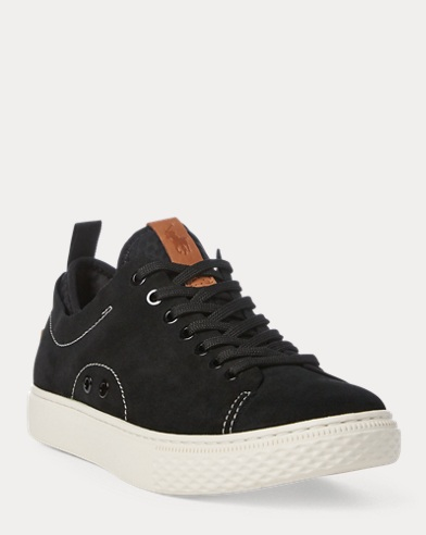 Sneaker Dunovin in camoscio