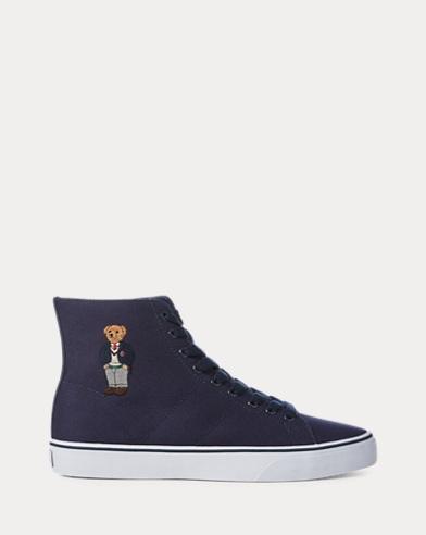 Sneaker Solomon alte con orsetto