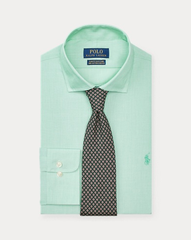 Slim Fit End-on-End Shirt
