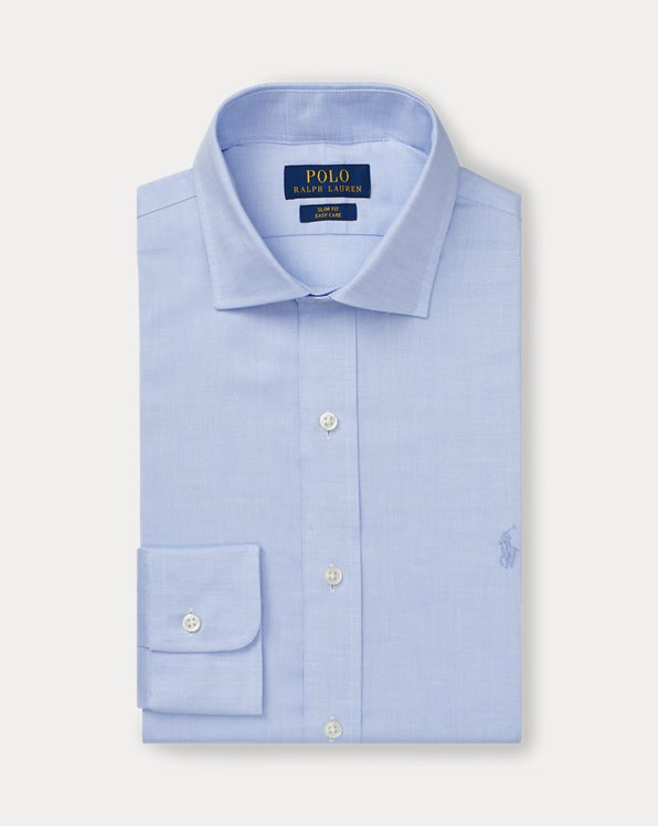 Slim Fit Easy Care Dobby Shirt