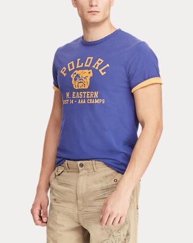 5bb3a73296d4 Mens Designer Polo T-Shirts   Crew Neck   V-Neck   Ralph Lauren UK