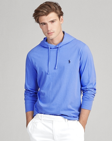 a9c03b77 Cotton Jersey Hooded Tee. UP TO 50% OFF. Polo Ralph Lauren