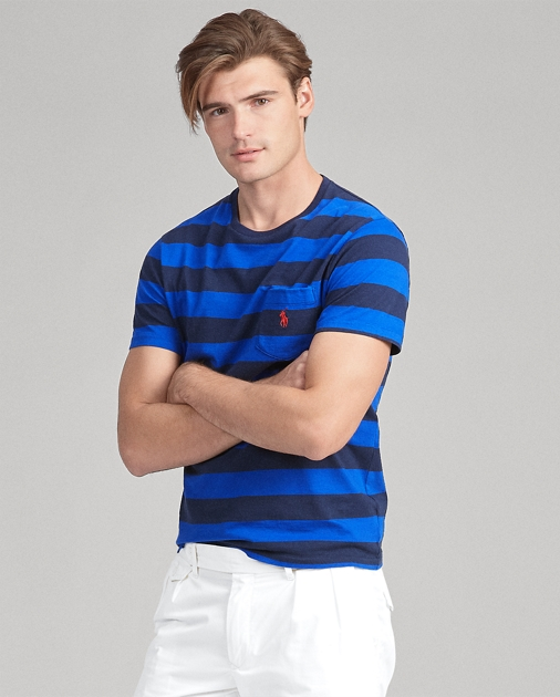 Polo Ralph Lauren Custom Slim Fit Striped Tee 1