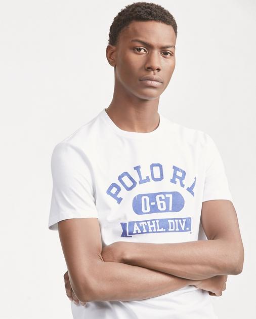 8eab20edca Polo Ralph Lauren Custom Slim Fit Graphic Tee 1