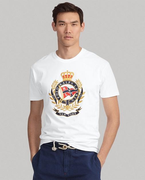 6803c6bdfe2 Polo Ralph Lauren T-shirt classique à écusson ...