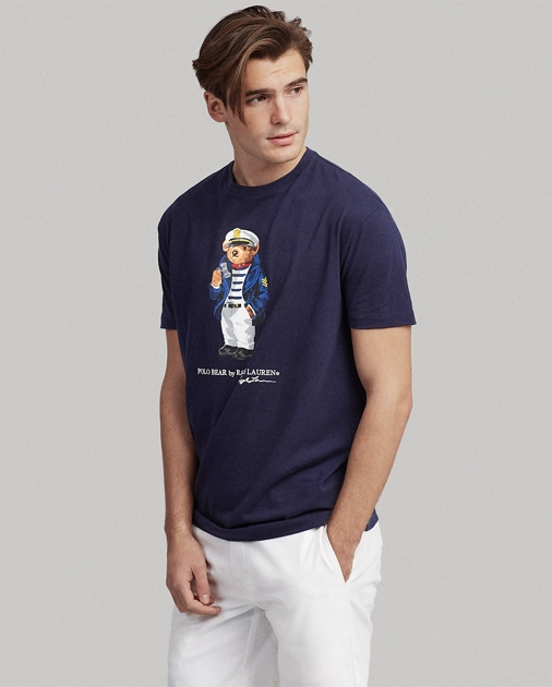 4a37fd2e9 Polo Ralph Lauren Classic Fit Nautical Bear Tee 1