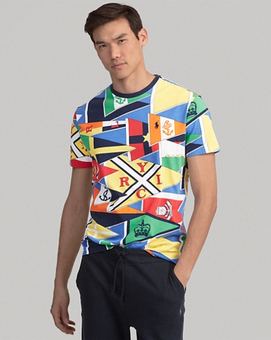 Maglietta a girocollo Classic-Fit