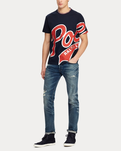 Fit Cotton Graphic Cotton Classic Classic Graphic Tee Fit rxBCoed