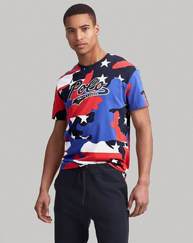 T-shirt classique jersey camouflage