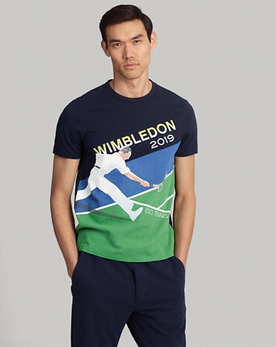 Wimbledon Custom Slim Fit Tee