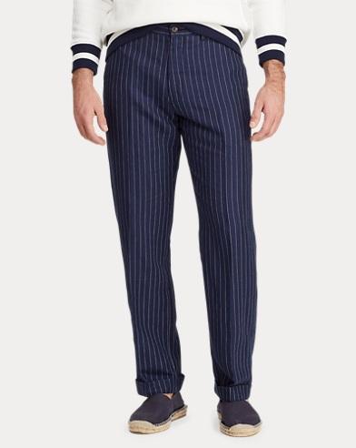 Pantalon classique en lin mélangé. NOUVEAUTÉS. Polo Ralph Lauren 551bf855b5d