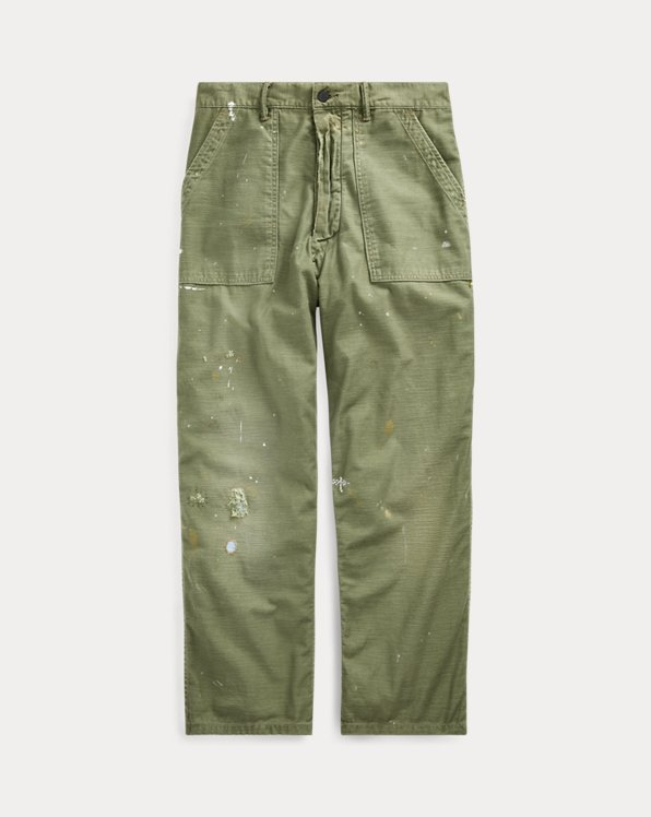 Relaxed Fit Hose in Used-Optik