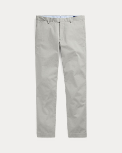 Stretch Slim Fit Cotton Chinos