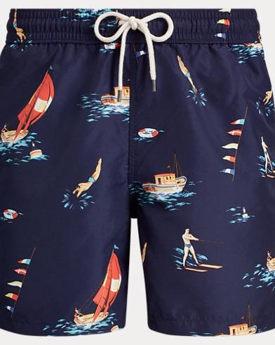 5060d31c6b6 Short de bain Traveler 14 cm. Polo Ralph Lauren
