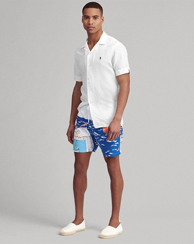 6d14bef086 Men's Swim Trunks, Bathing Suits, & Swimwear | Ralph Lauren