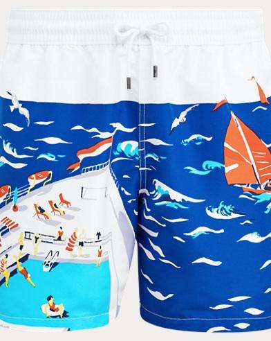e4d0d7ff72 Men's Swim Trunks, Bathing Suits, & Swimwear | Ralph Lauren