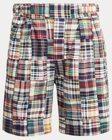 Relaxed Fit Madras Short