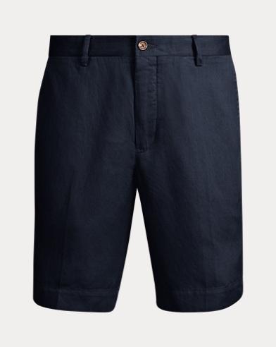 Classic Fit Twill Shorts
