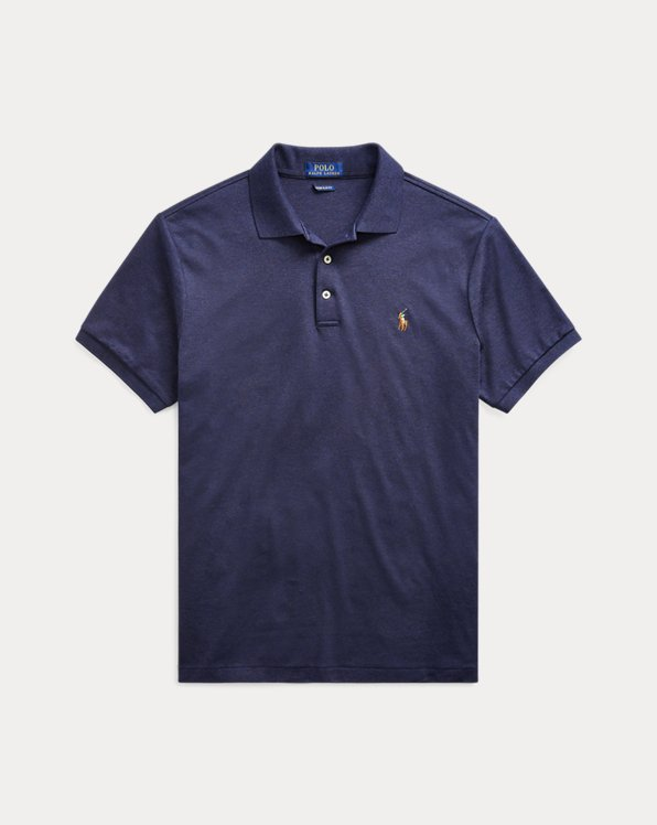Slim Fit Soft Cotton Polo Shirt