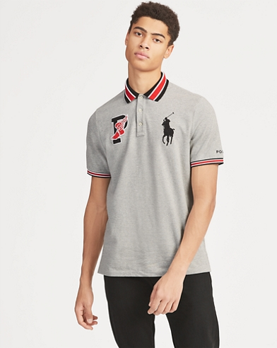 Polo P-Wing in piqué Classic-Fit