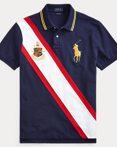 414ca007767 Take 30% off. Polo Ralph Lauren. Custom Slim Fit Mesh Polo.  98.50