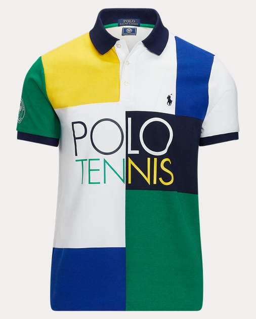 Wimbledon Fit Polo Custom Slim FT13KJlc