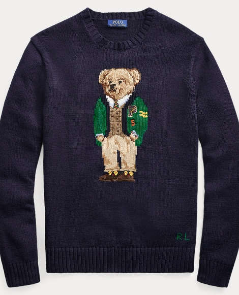 University Bear Sweater