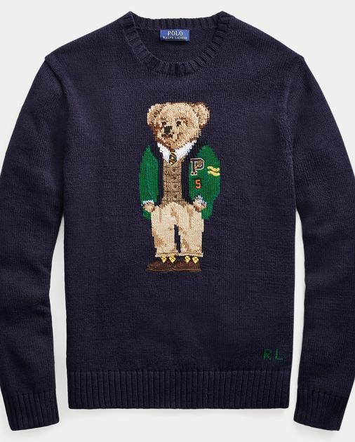 829e17f7a08 Polo Ralph Lauren University Bear Sweater 2